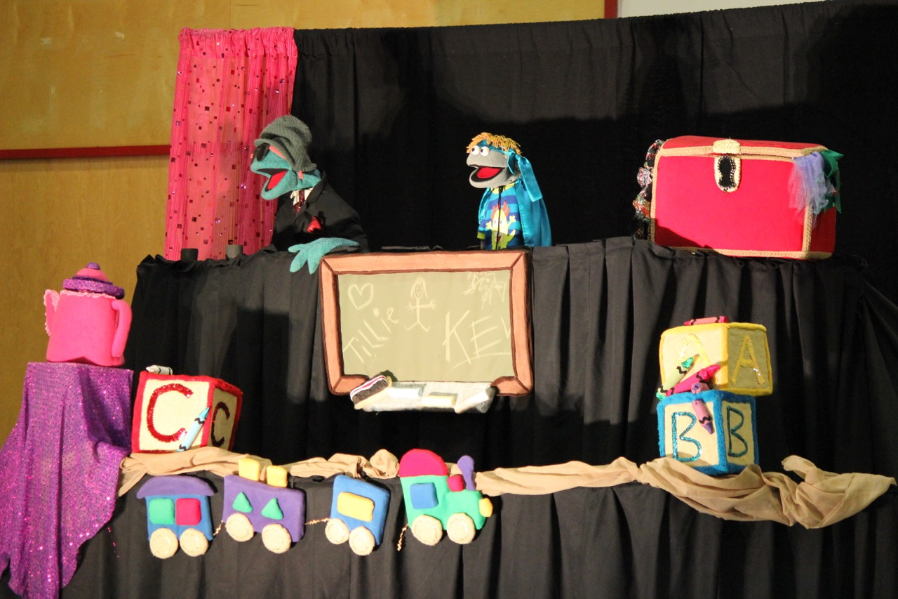Rock the Arts Puppets