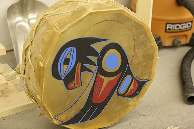 First Nations Frame Drum Building