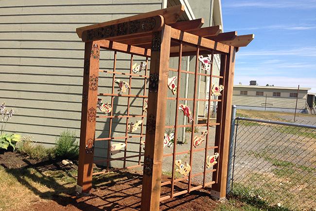 The Courtenay Elementary Garden Gate Project