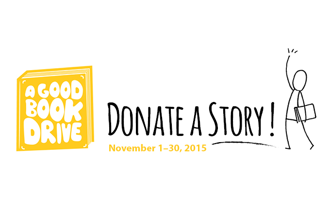 A Good Book Drive 2015 at ArtStarts