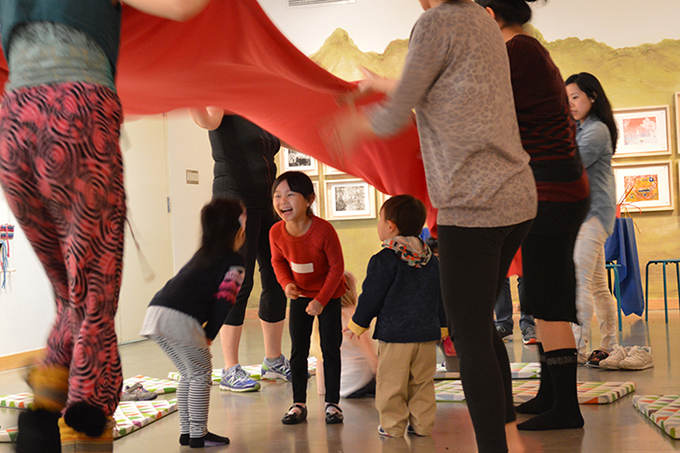Family Day 2016 at the ArtStarts Gallery