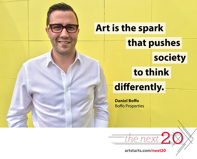The Next 20: Daniel Boffo