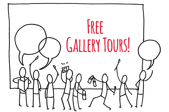 Free Weekend Tours of the ArtStarts Gallery