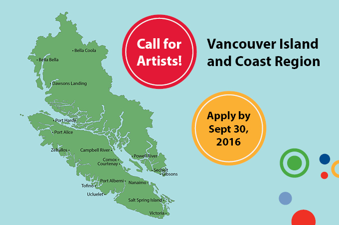 Call for Artists! Arts Integration Learning Lab in Nanaimo