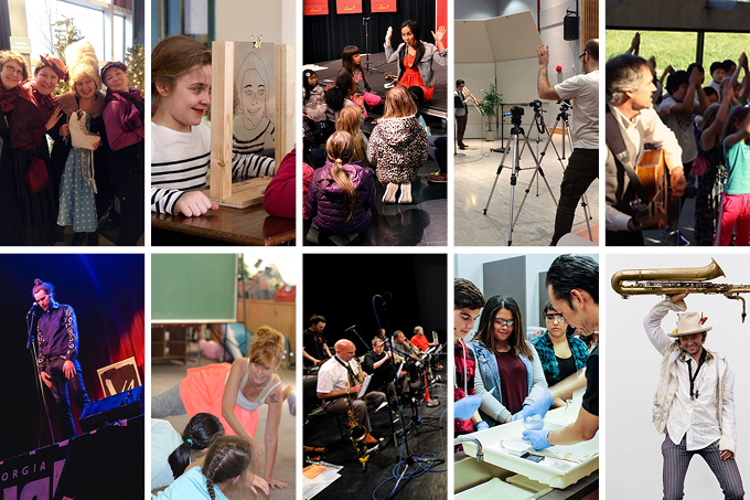 Announcing the Artists in the Classroom Directory 2017-18