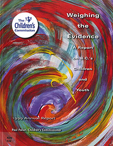 Weighing the Evidence: A Report on BC's Children and Youth