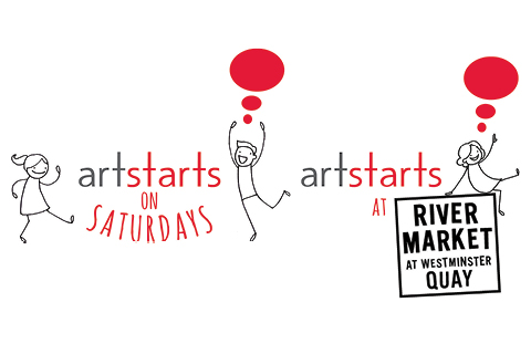 ArtStarts on Saturdays and ArtStarts at River Market