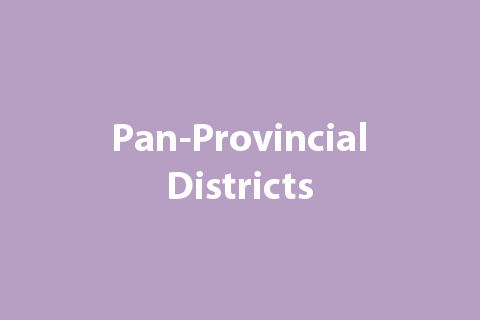 Pan-Provincial Districts