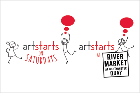 ArtStarts on Saturdays & ArtStarts at River Market